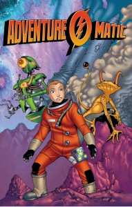 Adventure-O-Matic Cover by Armand Villavert